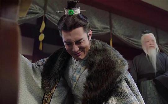燕丹见樊将军头颅愧疚痛哭