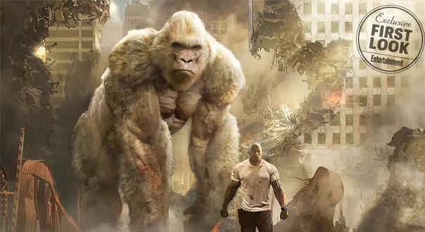 《狂暴巨兽》领跑票房榜