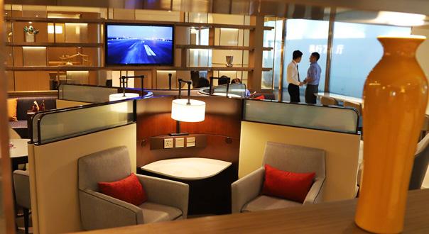 萧山机场新增休息室